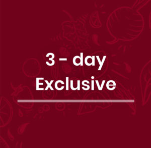3-Day Exclusive